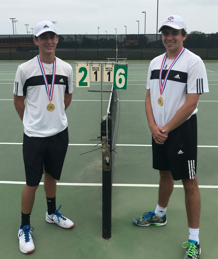 2018 Region III 5A Boys Doubles Champions