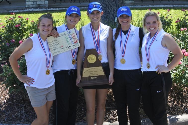Rockdale girls golf