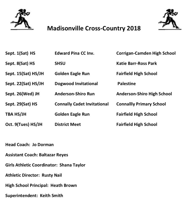 Madisonville cross country
