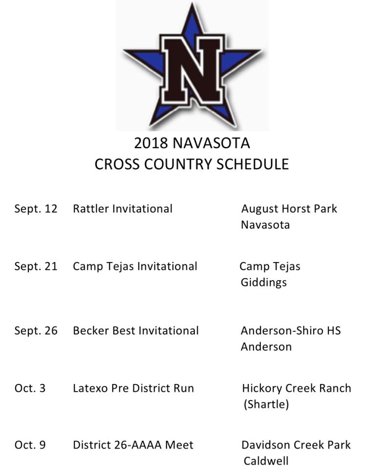 Navasota cross country