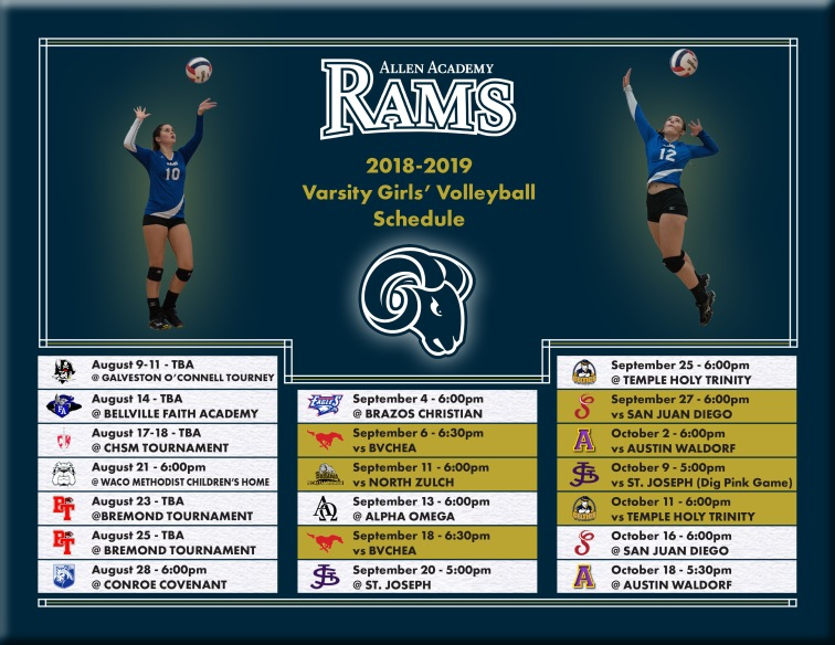 2018-2019-Varsity-Girls-Volleyball-Calendar-1