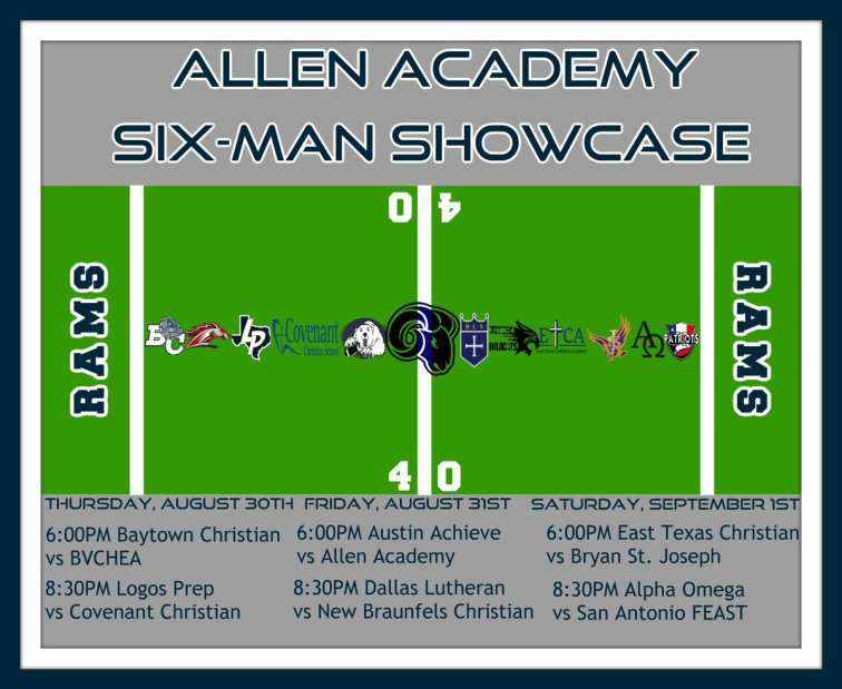 Allen Academy showcase